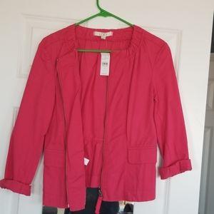 Loft pink jacket